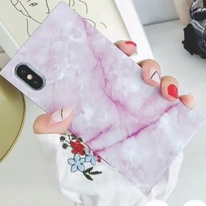 iPhone XS/X/XR marble case